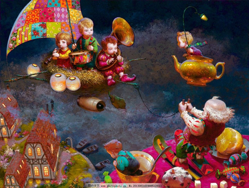 童话世界-俄国儿童游乐设计