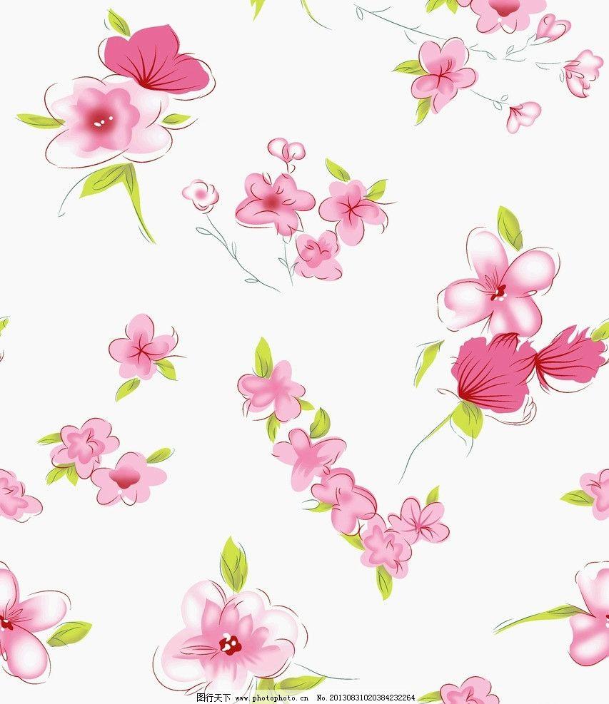 小碎花 花卉 植物 底纹 抽象花卉 手绘花卉 花边花纹 底纹边框 设计
