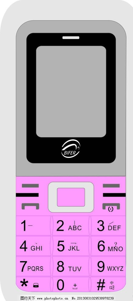 手机 素材下载 粉红 按键手机屏幕 移动通信 无线科技 电子科技
