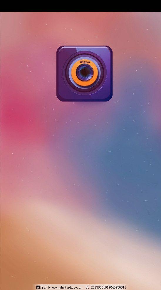 手机屏幕图标 手机屏幕 手机 手机图标 ui图标设计 图标设计 相机图标