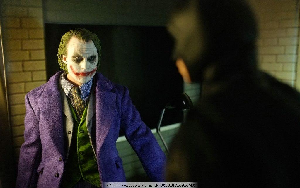 蝙蝠侠 小丑 希斯莱图片