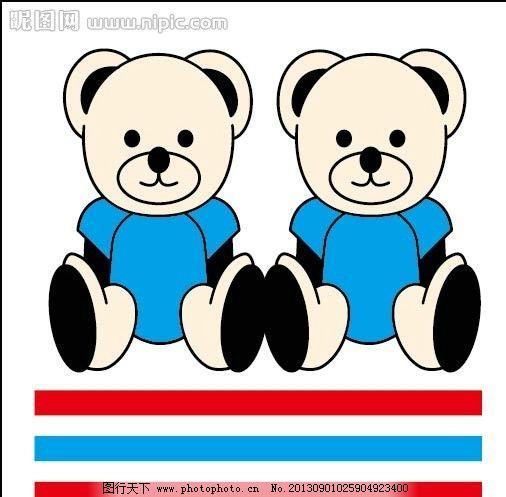两只 小熊可爱大全 图片_可爱头像_日出头像