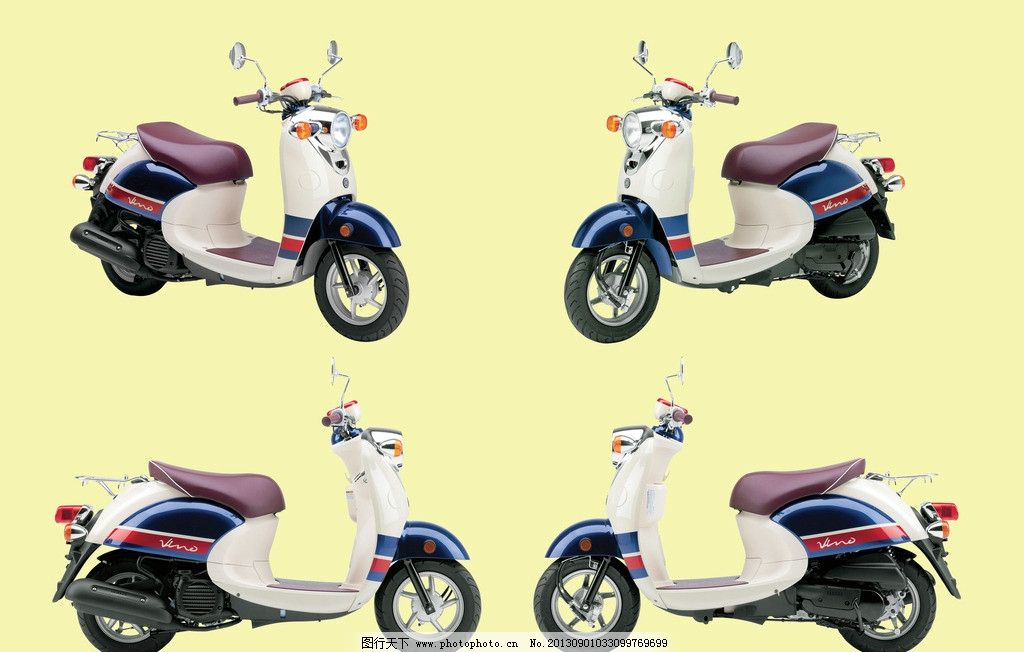 踏板摩托车 摩托车 小龟