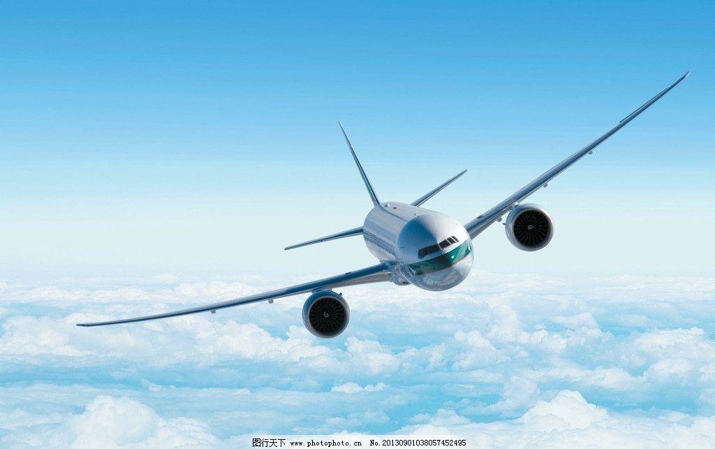 现代飞机简笔画