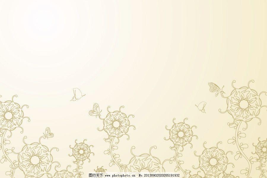 相框 花朵 花瓣 小花 花卉 花海 树叶 叶 时尚景 时尚边框 欧式底纹