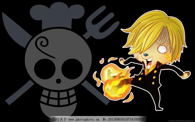 海贼王乔巴版香吉士免费下载 海贼王 卡通 可爱 海贼王 可爱 卡通
