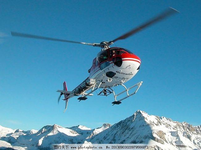 高清直升飞机背景图片素材