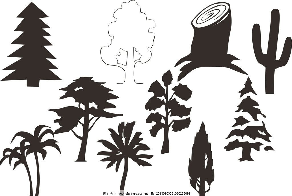 植物大全图片_其他_广告设计_图行天下图库