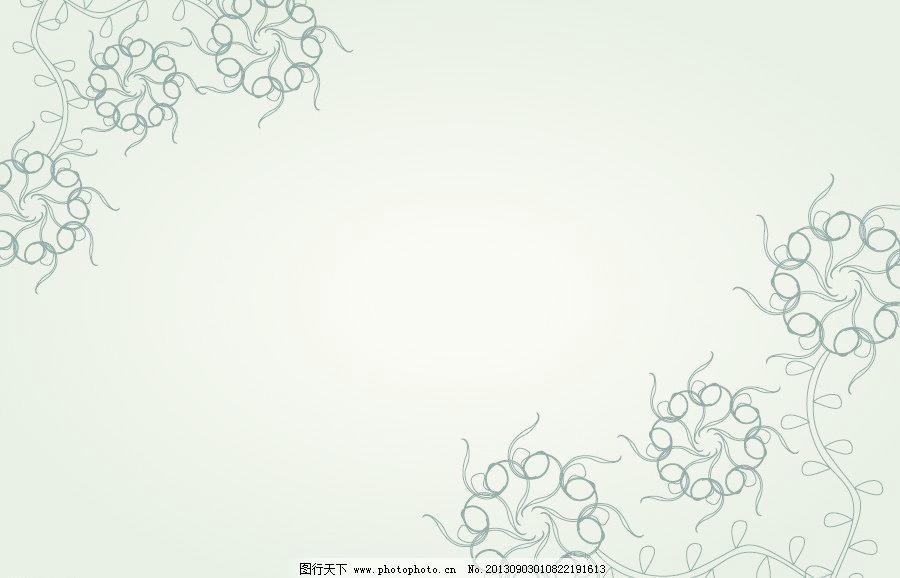 边纹 花边样式 花朵纹样 边条 花纹花边 底纹边框 淡雅 相框 黑白图图片