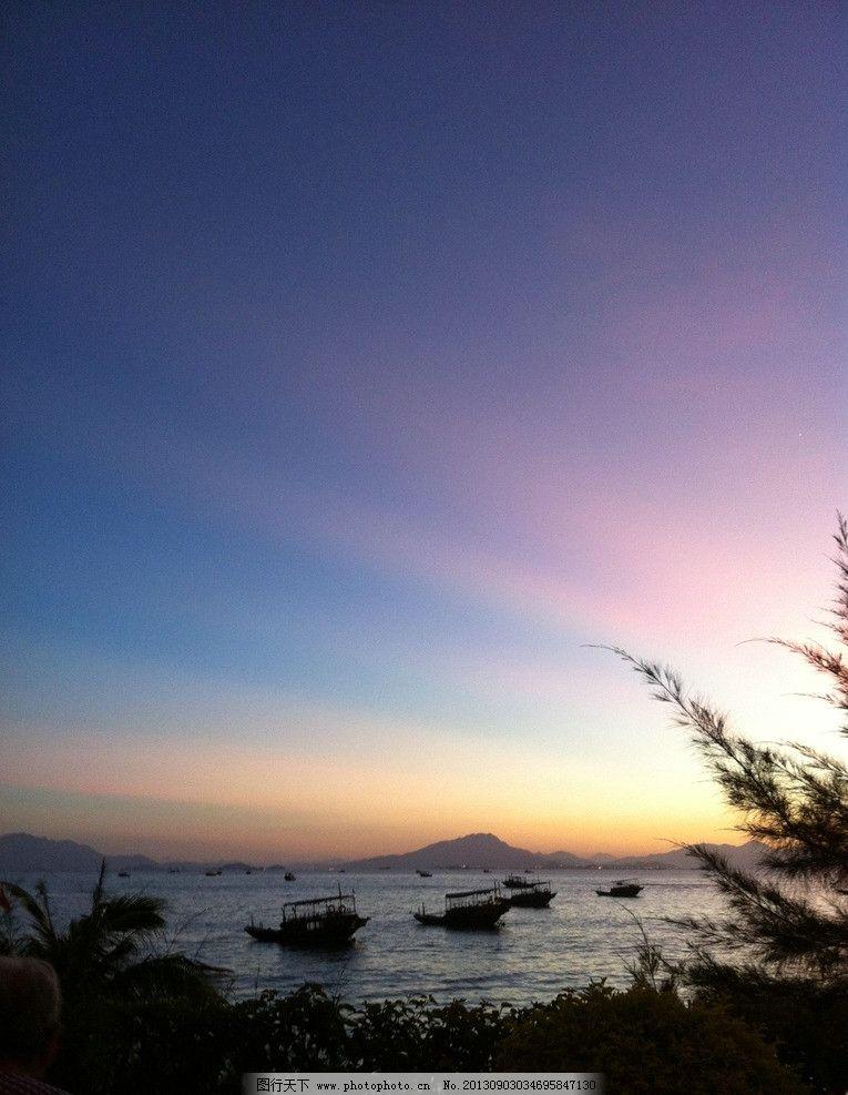 海边 早晨景色 自然景观海边 海景 旅游 大海 太阳 风景名胜 自然景观