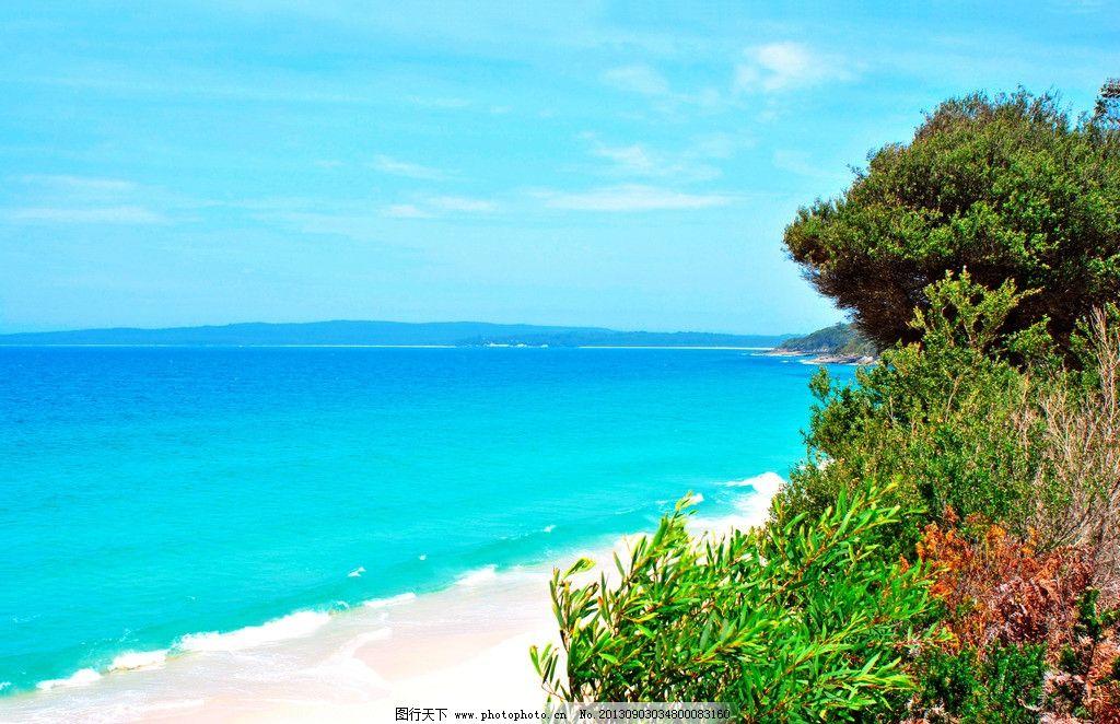 大海 蓝天 白云 唯美 海岛 天堂 度假村 马尔代夫 加勒比海