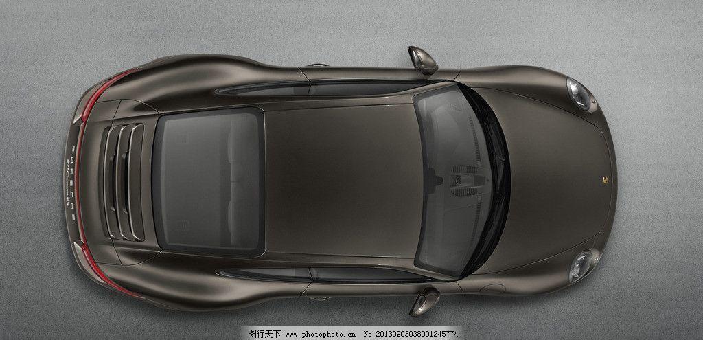 轿车俯视图-小汽车 porsche 911 speedster