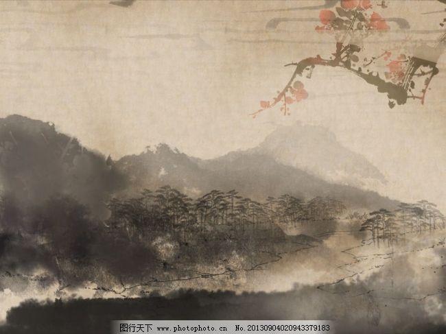 精美中国古风背景图片