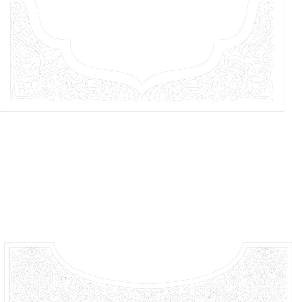 移动门边框矢量素材 移动门边框模板下载 移动门边框 边框 花纹 欧式