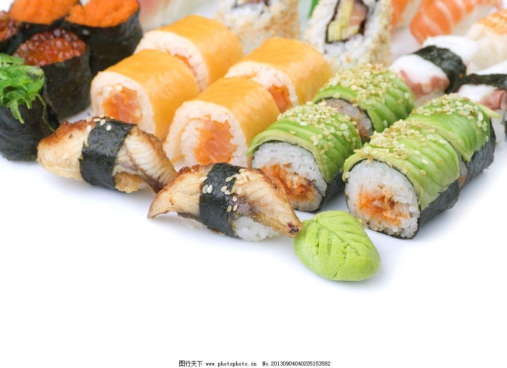 马克笔手绘寿司