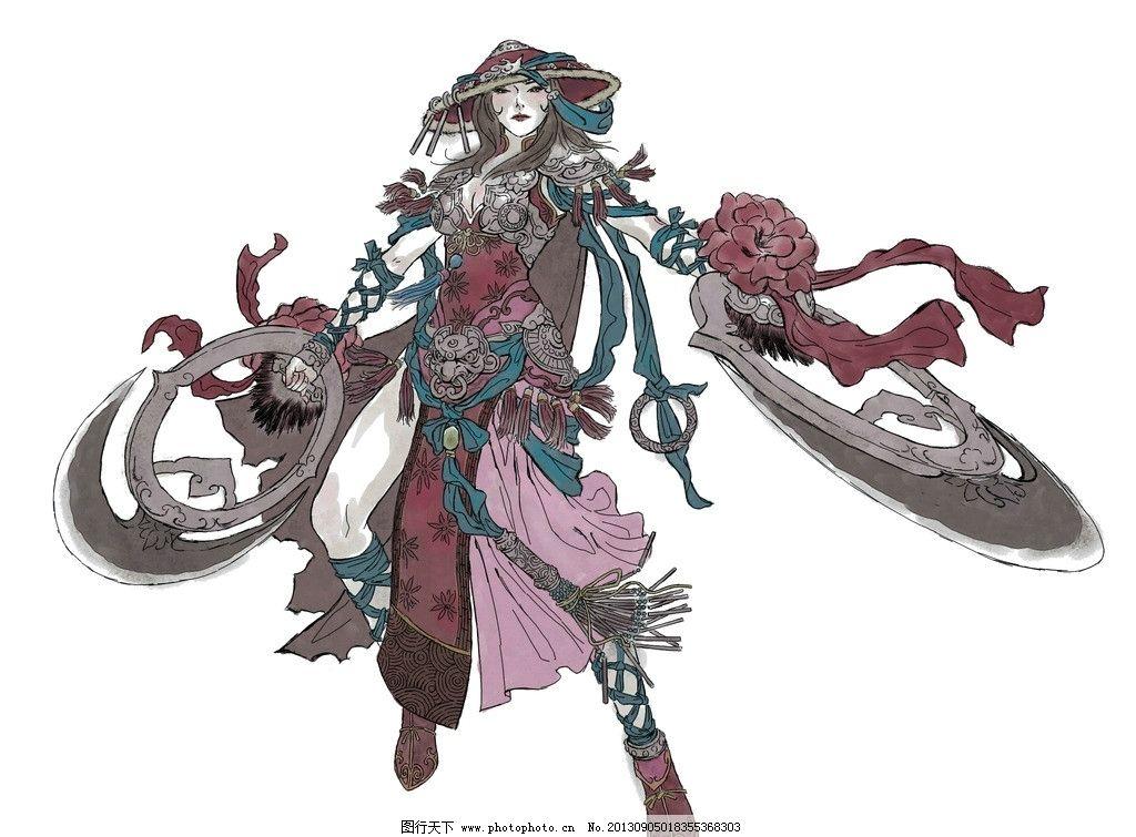 花树界 女舞者 原画 场景 手绘 原画设定 动漫人物 动漫动画 设计 72