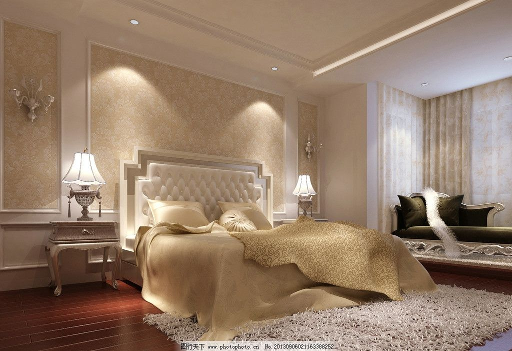 欧式卧室图片