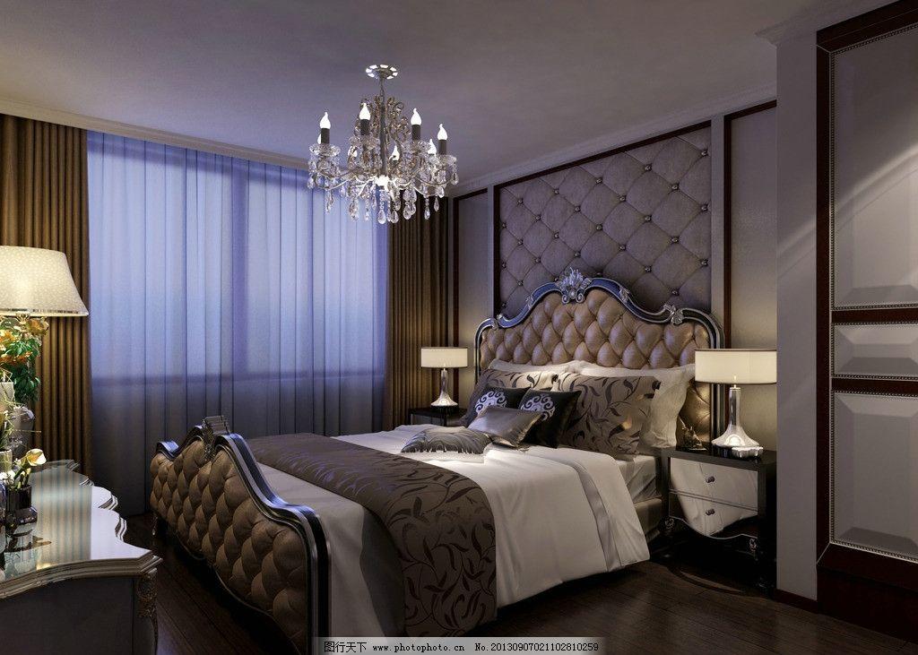 卧室 家装 别墅 欧式 豪华