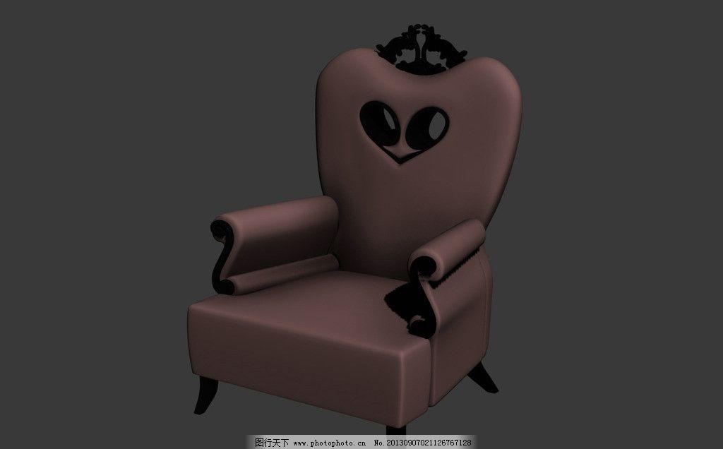 小动物头像椅子