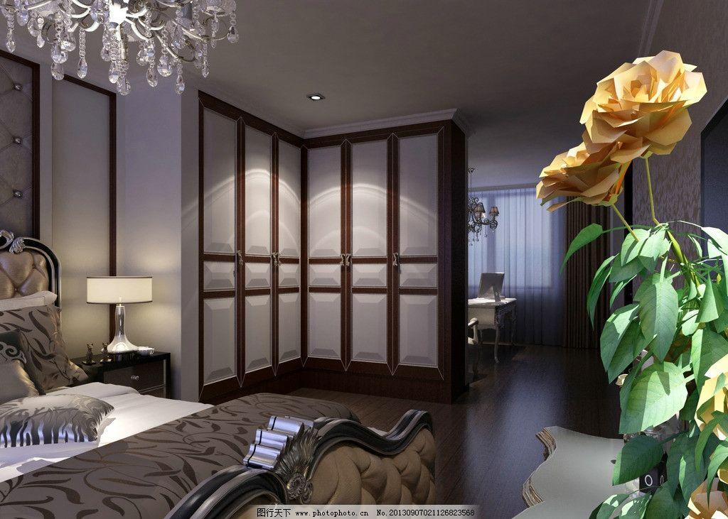 卧室 家装 别墅 欧式 衣柜
