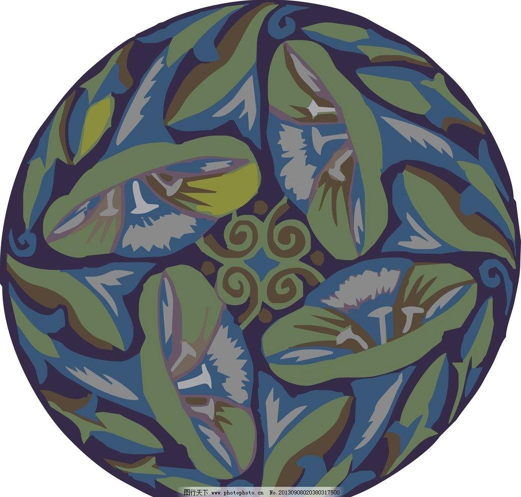 花纹 装饰花纹 装饰纹样 纹样 经典花纹 复古花纹 中式花纹 矢量花纹