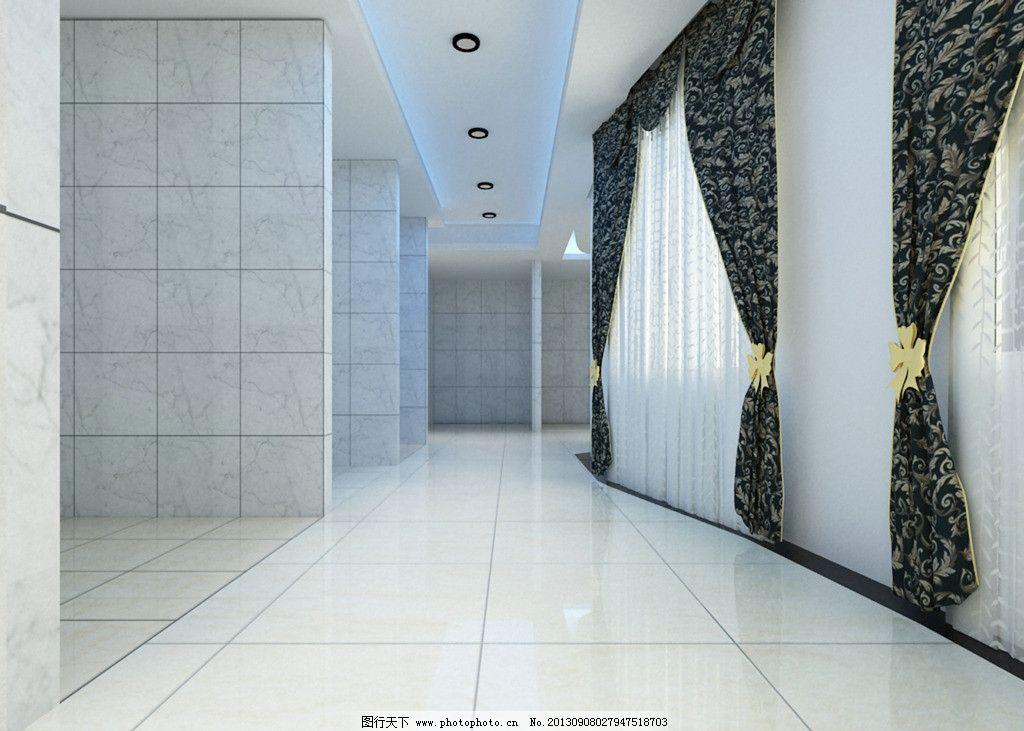 瓷砖展厅走廊图片