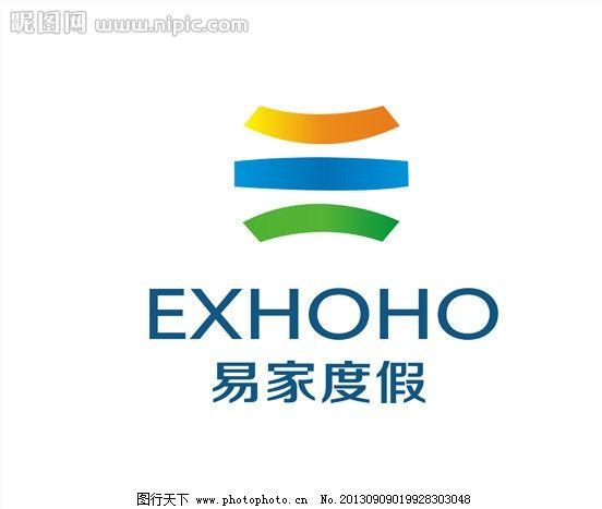 易家度假字体logo图片