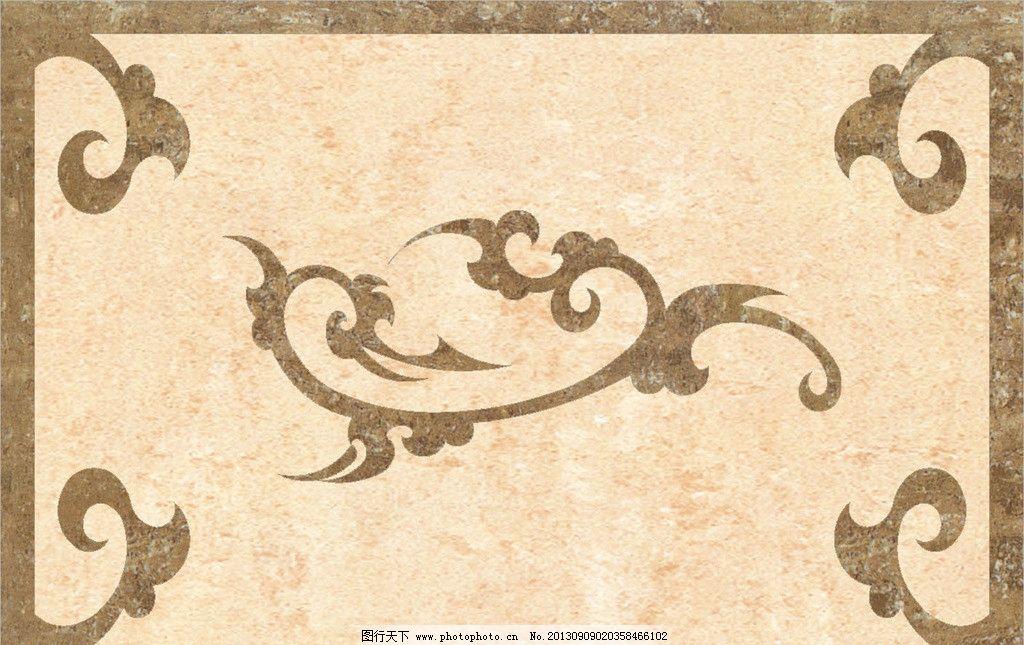 地毯 欧式特别风格 方块地毯 块毯 贴图 长方形图案 花毯 花纹 花心