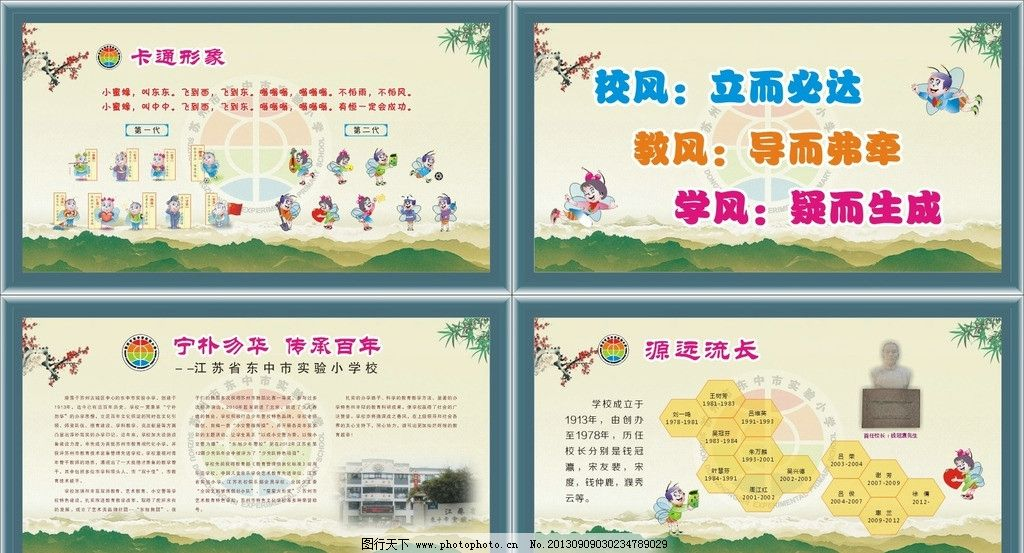 设计图库 广告设计 展板模板  学校橱窗转班 学校 展板 橱窗 学校展板