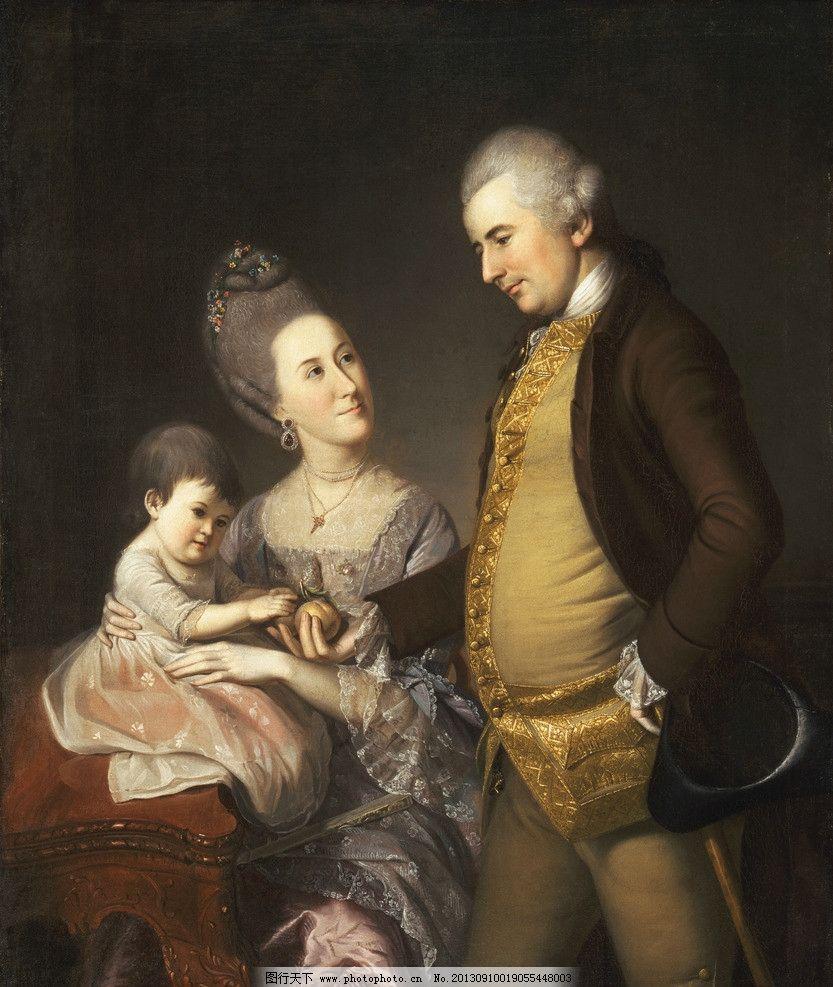 人物油画 油画作品 著名油画 国外油画 西方古典油画 油画 艺术 约翰