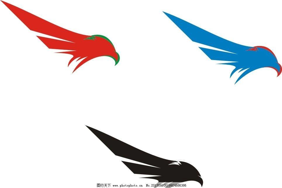 鹰标志 鹰 logo 动物 头部 鸟 企业logo标志 标识标志图标 矢量 cdr