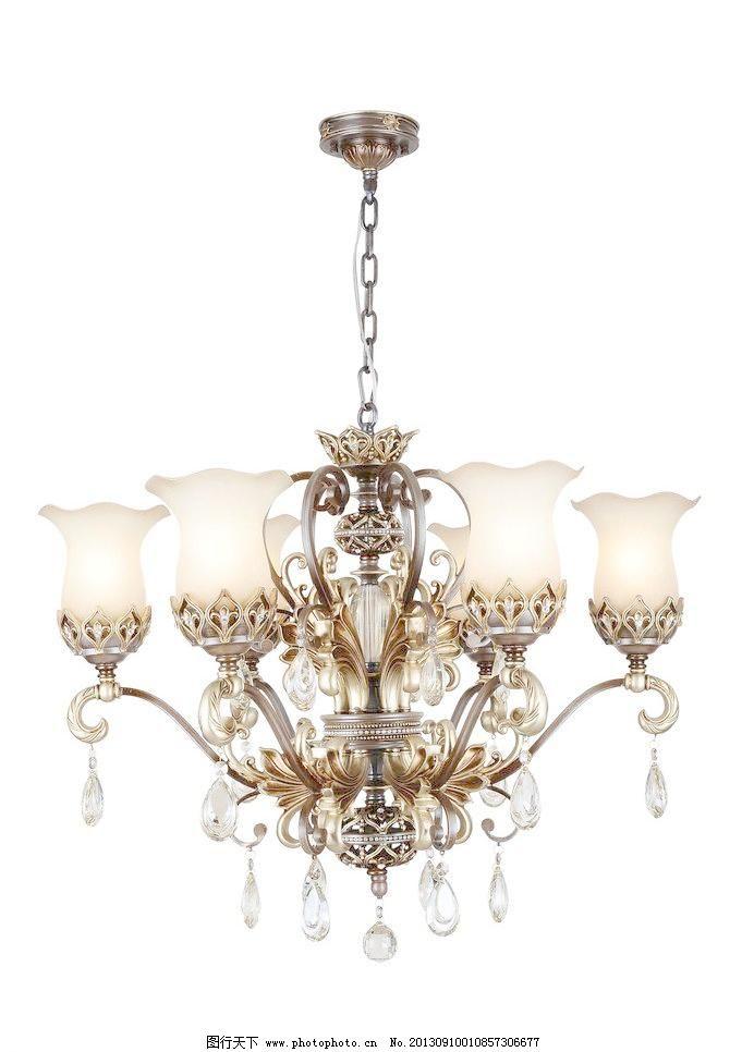 现代灯 欧式灯图片素材下载 欧式灯 水晶灯 高档水晶灯 现代灯 吊灯