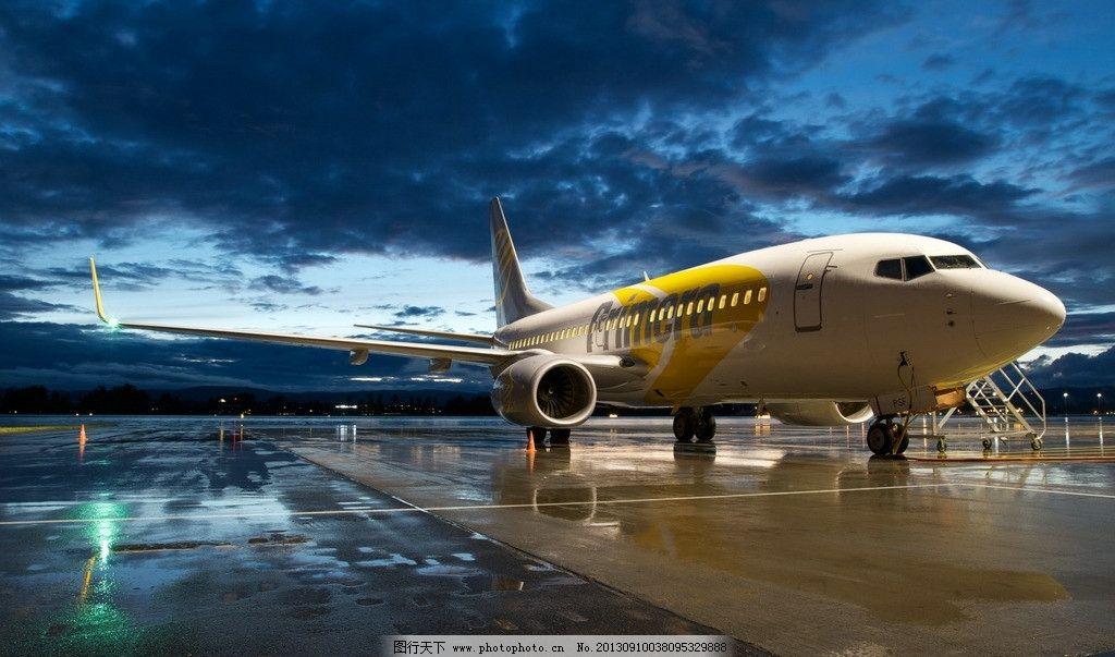 飞机 客机 天空 机场 蓝天
