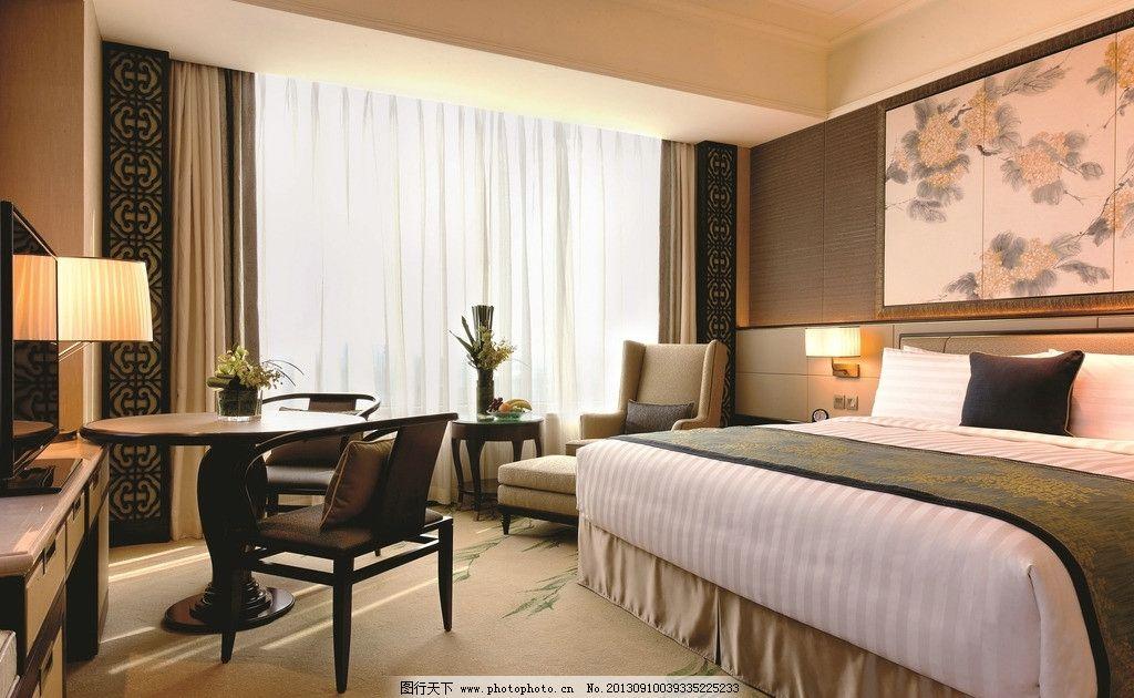 香格里拉酒店客房图片
