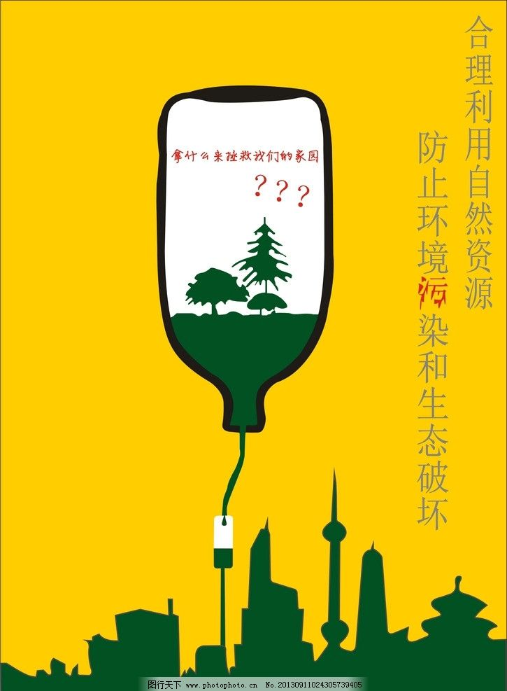 环境保护宣传海报图片图片