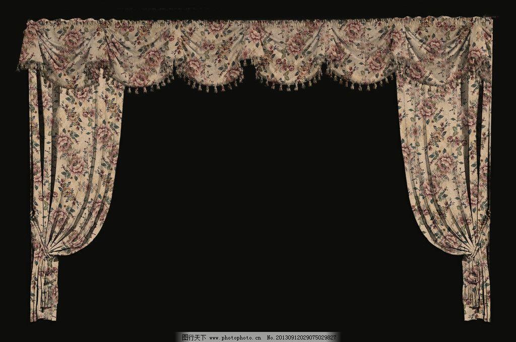 窗帘 乡村风格 花纹 欧式花纹 时尚花纹 时尚窗帘 其他设计 环境设计