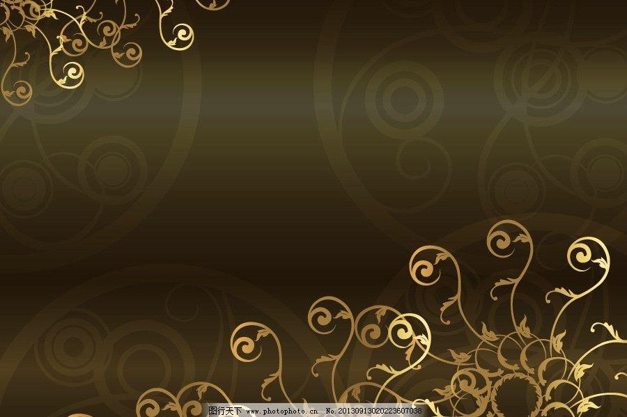 黑色背景 欧式底纹 欧式边框 黑色底纹 黑色海报背景 黑色 金色花纹