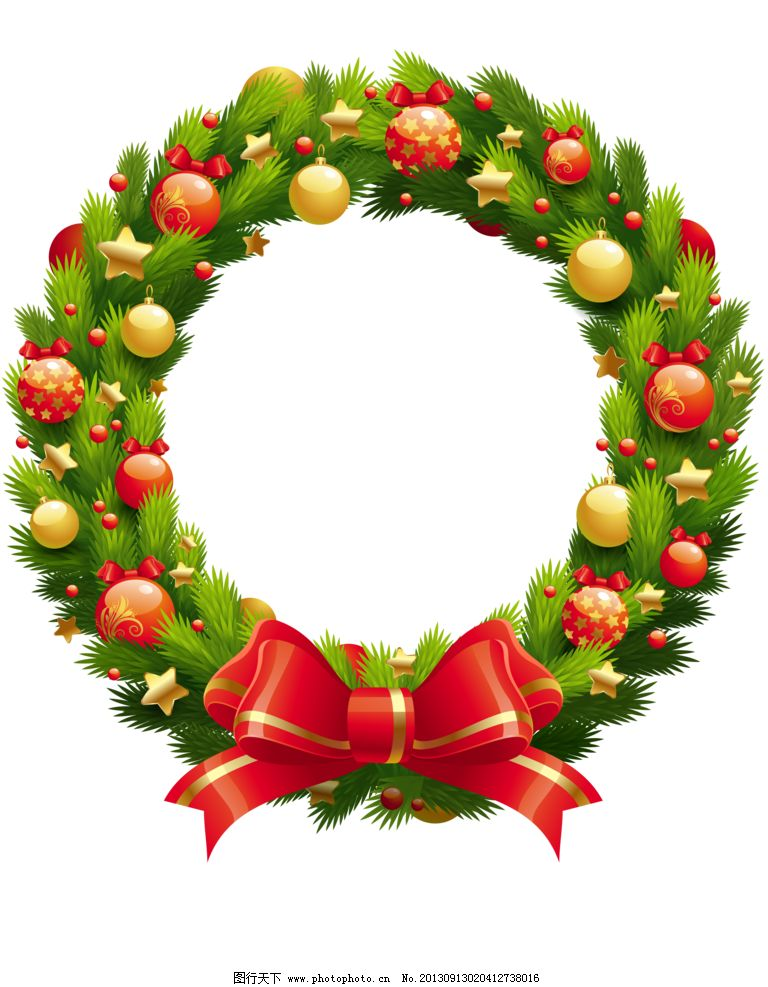 花样相框 png 免抠图 框架 蝴蝶结 叶子 圣诞 边框相框 底纹边框 设计