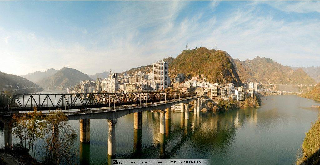紫阳铁路桥 陕西 安康 紫阳 铁路桥 一角 国内旅游 旅游摄影 摄影 72图片