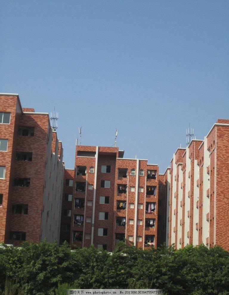 宿舍楼 重庆南方翻译学院 川外南方翻译学院 重庆大学校园 校园风景