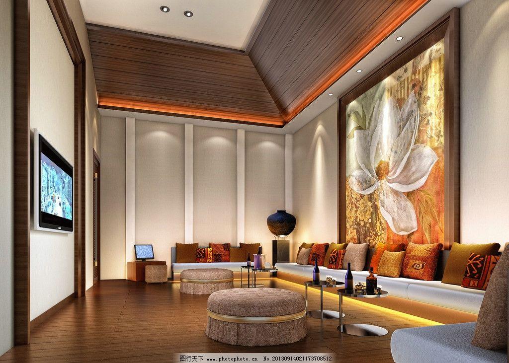 包厢效果图 包厢 东南亚 装饰效果图 ktv 软装 沙发 3d作品 3d设计