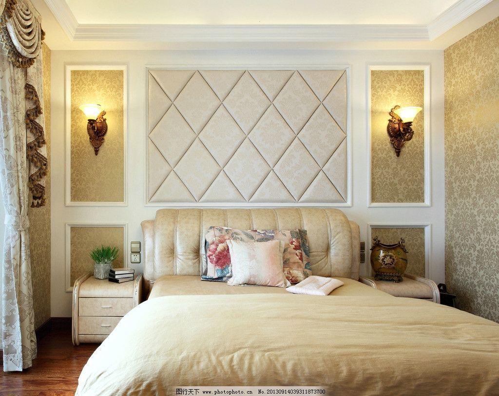 家装效果图 壁纸装修 室内精美装修 卧室装修 经典室内装修 温馨装修