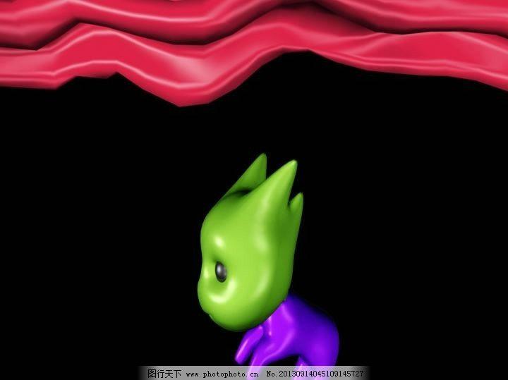 动态卡通动物视频素材