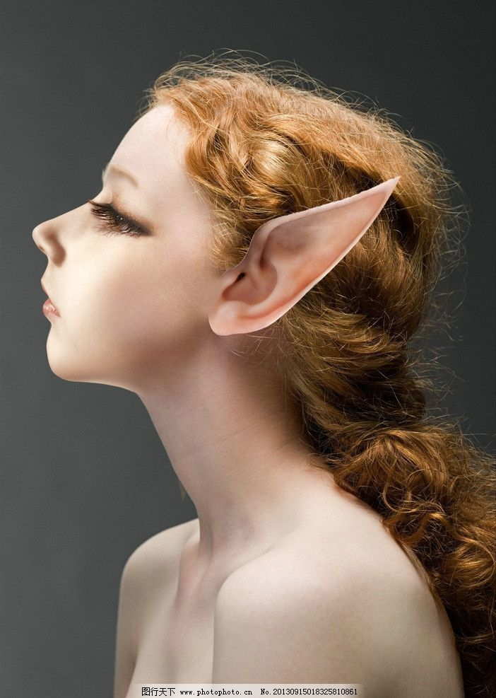可爱的精灵 精灵 耳朵 尖耳 美女 神话 欧美 大耳朵 科幻 魔幻 童话