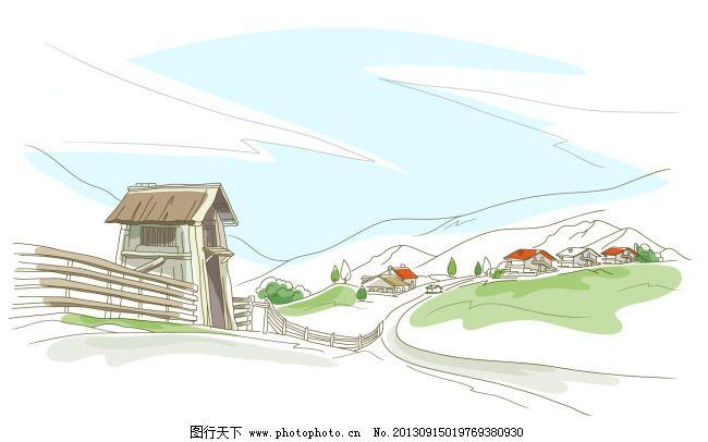 美丽中国手绘图大赛