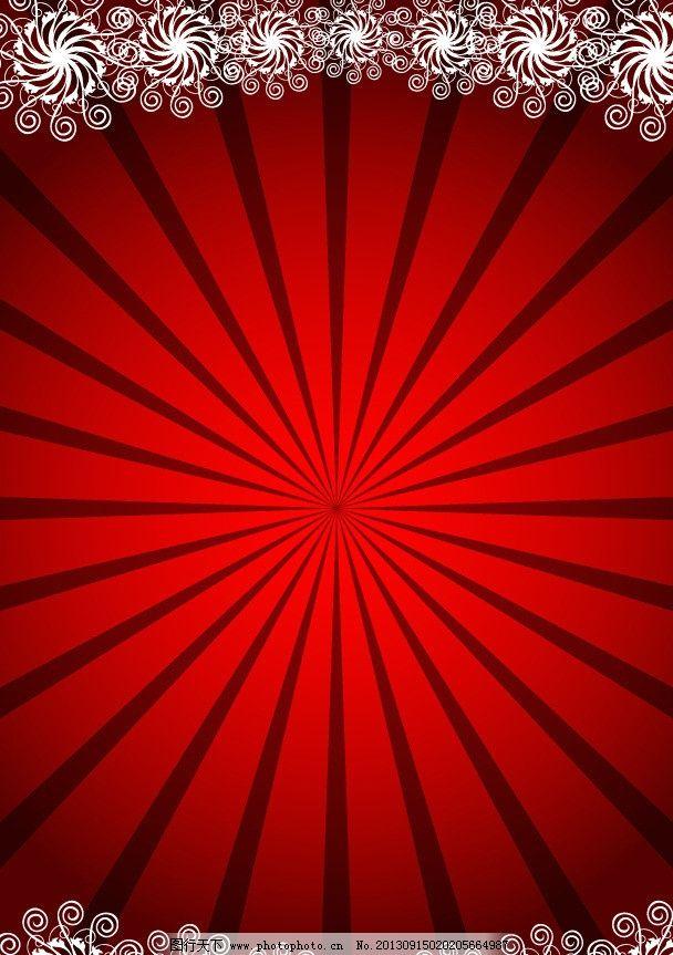 红色背景 欧式底纹 红黑背景
