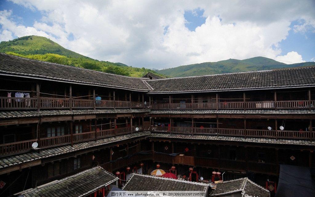 福建土楼 中国 福建 土楼 建筑 乡村 国内旅游 旅游摄影 摄影 350dpi