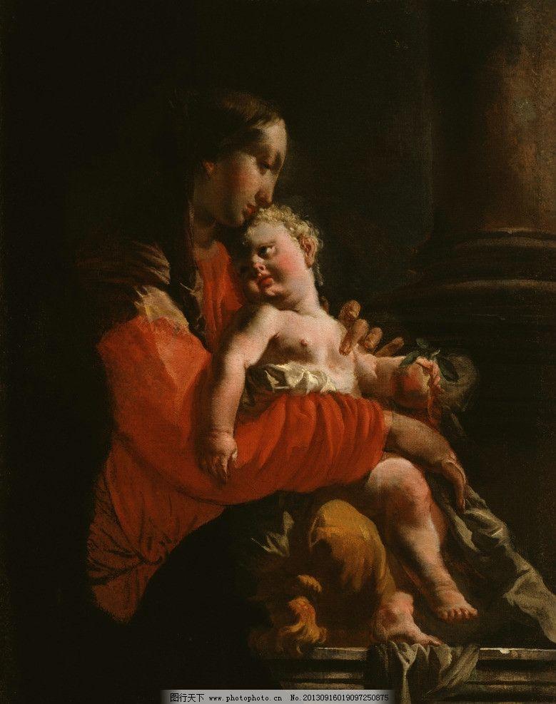 人物油画 油画作品 著名油画 国外油画 西方古典油画 艺术 巴洛克式