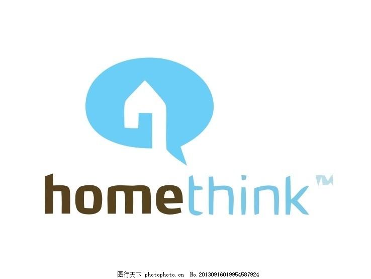 logo 房子 房屋 屋子 地产 房地产 外国 国外 西方 欧美 西式 欧式