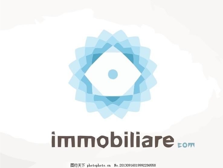 房子logo,房屋 屋子 地产 房地产 外国 国外-图行天下